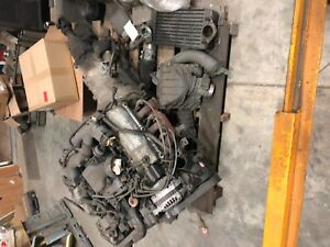 Ford 3 8 Engine Supercharged Complete With Transmission And Computer