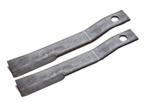 set Of 2 Replacement Blades For Bush Hog 7555bh Rotary Mower Blades