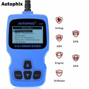 Obdii Scanner Obd2 Diagnostic Tool Code Reader Abs Srs Car System For Vw Audi