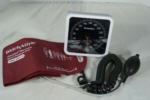 Welch Allyn Tycos Aneroid Sphygmomanometer Blood Pressure Wall Mount