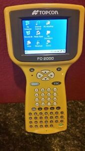 Topcon Fc 2000 Data Collector For Surveying Total Station