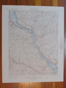Mccalls Ferry Pennsylvania 1948 Original Vintage Usgs Topo Map