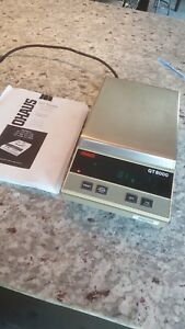 Nice Ohaus Precision Digital Scale Gt8000 Electronic