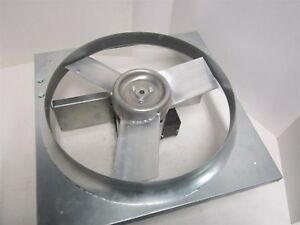 Industrial Direct Drive Exhaust Fan 18 Aluminum Propeller 115 230v 1 Phase New