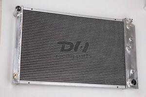 3 Rows 26 Wide Core All Aluminum Radiator Fit Chevy Camaro Many Gm Cars Trucks