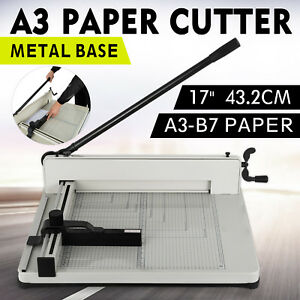 17 A3 Paper Cutter Paper Clamp Industrial Splendid Gauge Innovative Newest