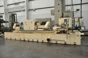 1975 2005 4r Landis 2 axis Cnc Cylindrical Grinder 14 X 120 Fanuc Oi tc