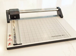 12 Professional Paper Cutter trimmer South Coast Designs Safety Super Roller