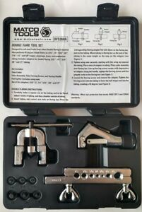 Matco Tools Complete Double Flare Brake Tool Set Dfs260 Line Repair