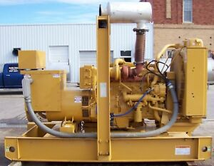 275 Kw Cat Caterpillar 3406 480v Diesel Generator Set S n 2wb15213