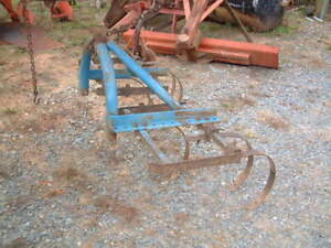Heavy Duty Ford Spring All Purpose Plow 3 Point Hitch 7 Spring 5 Ft Wide