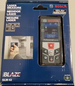 New Bosch Glm 42 Laser Measure Full color Display Glm42