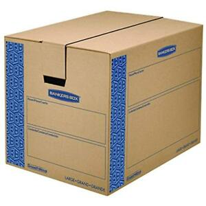 Smoothmove Record Storage Boxes Moving Boxes Tape free Fastfold Easy Assembly