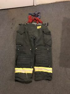Morning Pride Gear Bunker Pants Turnout Pants Fdny Style Size 40x29