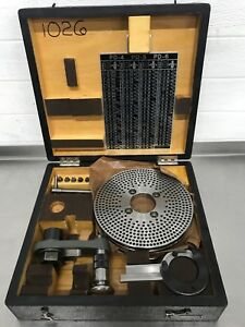 Societe Genevoise Sip Rotary Table Index Dividing Head Conversion Attachment