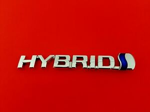 2007 2009 Toyota Prius Hybrid Left Side Fender Emblem Logo Badge Sign Oem 2009