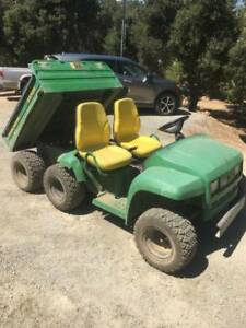 John Deere Gator 6x4 Diesel Electric Hydraulic Bed Option New Tires