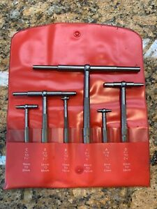 Starrett s579h Telescoping Snap Gage Guage Complete Set Flawless Function W26