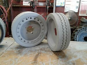 2 16x5 86 Skyjack Scissor Lift Tires Sj Iii 4626 4632 Made In Usa