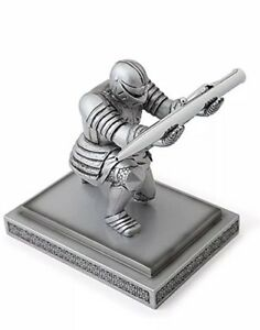 Executive Medieval Knight Pen Holder Stand Novelty Gift Office Decor Desk Decor