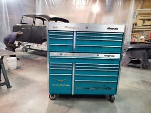 Like New Snap On 57 Chevy Bel Air Tool Box With New Cover Belair Krl761 791