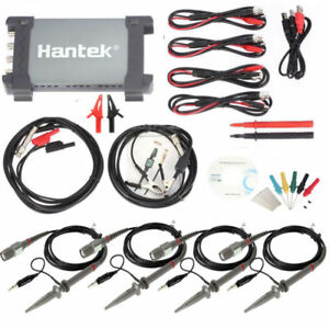 Hantek 6204be Diagnostic Tool 1gsa s 200mhz Auto Digital Usb Pc Oscilloscope 4ch