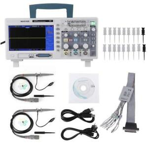 Hantek Mso5102d 2in1 Digital Oscilloscope 100mhz 2ch 1gsa s 16ch Logic Analyzer