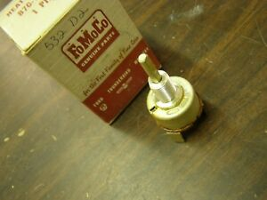 Nos Oem Ford 1957 1960 Truck Pickup Heater Switch 1958 1959 F100 F200 F300
