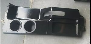 1987 1993 Ford Mustang Foxbody Center Console Tray Ashtray Black Cup Holders