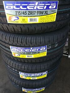 New Accelera 215 45zr17 Xl 215 45 17 Tires Free Installation Corolla Frs Is300