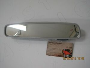 1969 1972 Gm A Body Inside Rearview Day Night 12 Mirror Stainless Grey Trim