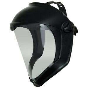 Uvex Bionic Face Shield With Clear Polycarbonate Visor And Anti fog hard