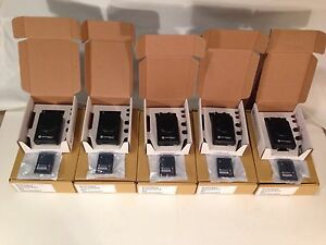 New Motorola Minitor V 5 Uhf Pagers 470 478 Mhz Stored Voice 2 chan Lot Of 5
