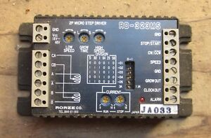 Rorze Rd 323ms Stepping Motor Drive Made In Japan Free Shipping