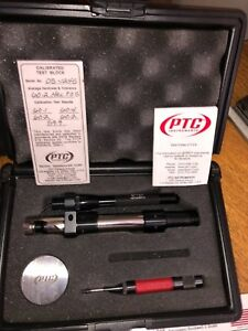 Ptc Portable Steel Metal Hardness Tester Kit Set Meter Ptc Model 316 C Scale