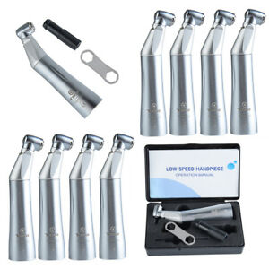 10x Tosi Led E Generator Inner Water Push Contra Angle Low Speed Handpiece Tx 75