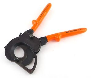 Facom 414 52 Avse 1000 Volt 2 Capacity Ratcheting Insulated Cable Wire Cutter