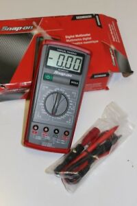 Snap on Manual Ranging Digital Multimeter Eedm503d pds003858