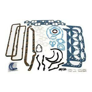 New Small Block Chevy 283 327 350 Complete Perma Torque Fel pro Full Gasket Set