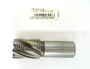 Onyx Cobalt Roughing End Mill 1 1 2 6fl 1 1 4 X 2 X 4 1 2 Fef7300
