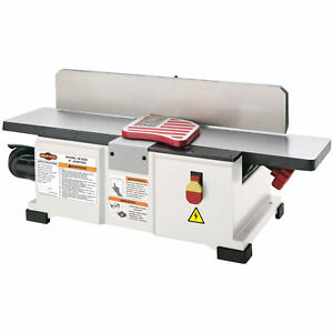 Shop Fox W1829 1 1 2 Hp 110v 6 inch Fully Adjustable Benchtop Jointer