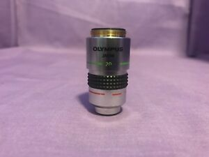Olympus Japan A20pl Phase Contrast 20x 0 40 160 0 17 Objective In Great Shape
