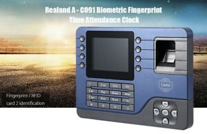 Realand A C091 Tft Biometric Fingerprint Rfid Card Time Attendance Recorder