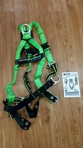 Att Miller Python P950fd Body Harness Belts 58 Xxlgn 400 Lbs Green