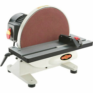 Shop Fox W1828 12-inch 1 HP 110V 1725 RPM Disc Sander
