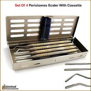 Periodontal Periotomes Atraumatic Extraction Scalers Dental Ligament Cassette
