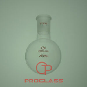 Proglass Single Neck Round Bottom Boiling Flask 250ml With 29 42 Joint