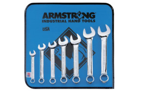 Regular Length Combination Wrench Set 7 Pc 12 Point Full Polish New 25 609