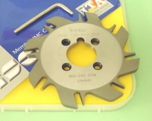 New Iscar Self grip 125mm Indexable Slot Milling Cutter sgsf 125 6 1 250k