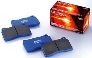 Endless Brake Pads Mx72 Plus Set Of F r For Toyota 86 Subaru Brz Gt gt Limited